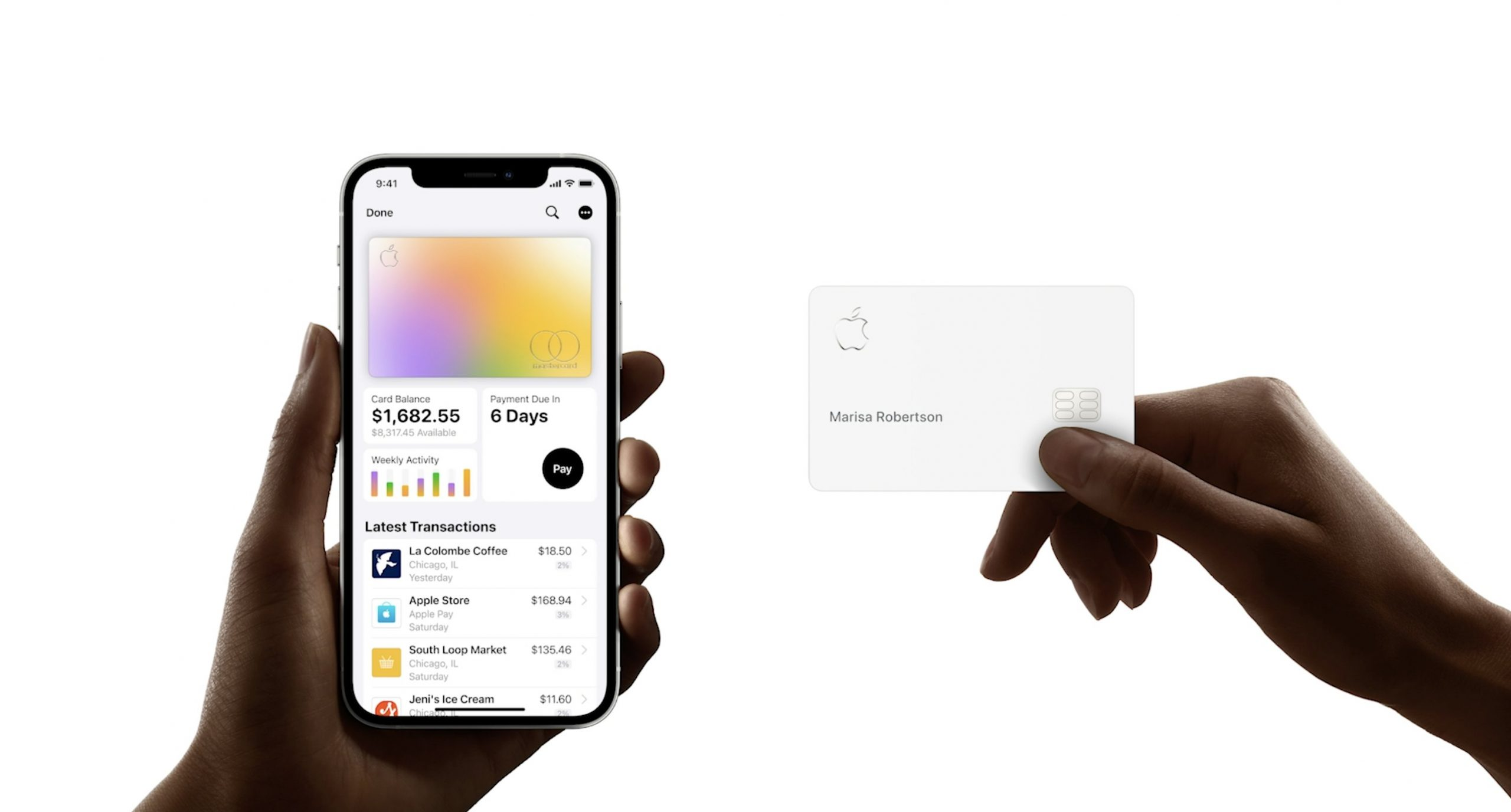 10:33 - Apple Card Launched Apple
