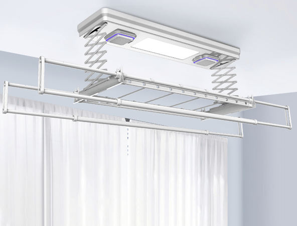"""Electric Clothes Drying Rack Device"" Comes With The Support For UV Sterilization"