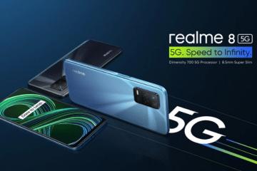 Realme Launched Realme 8 5G Powered With Dimensity 700 SoC Starting At Rs. 14,999