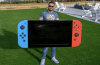 YouTuber Builds The World's Massive Fully Working Nintendo Switch Console, Here Is Its First Look