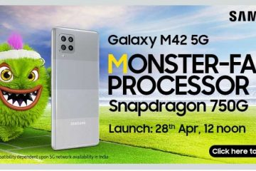 Samsung Confirms The Launch Of Samsung Galaxy M41 5G Powered With Snapdragon 750G SoC On 28th April Via Flipkart