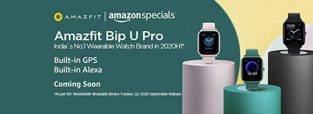 Amazfit Bip U Pro – Pricing And When Will It Be Available?