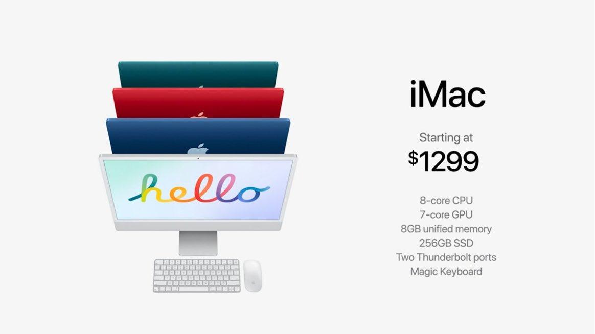 iMac - Pricing