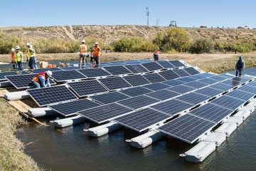 floating solar pannels