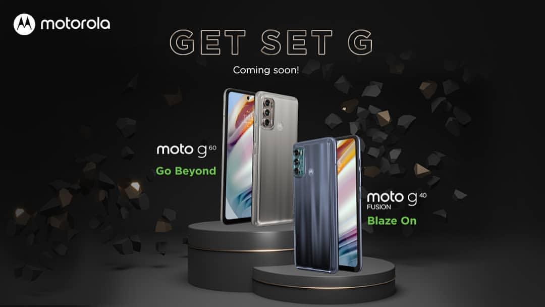 Moto To Unveil Moto G Fusion Series Smartphones, Moto G60 & Moto 640 Fusion On 20th April In India