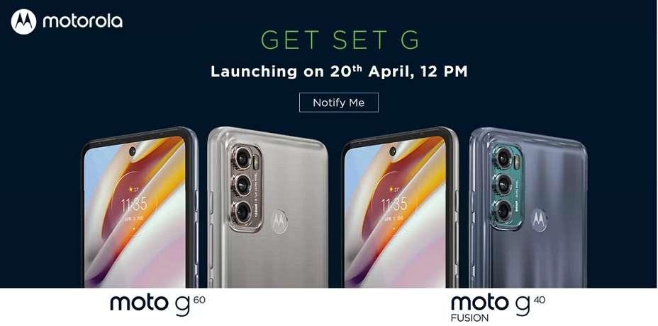 Moto G60 & Moto G40 - Official Look