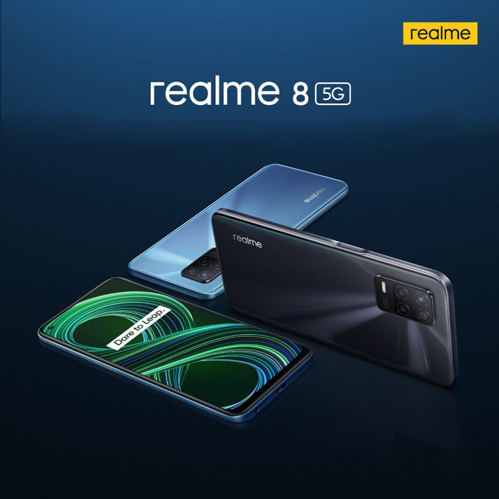 Realme 8 5G - Official Look