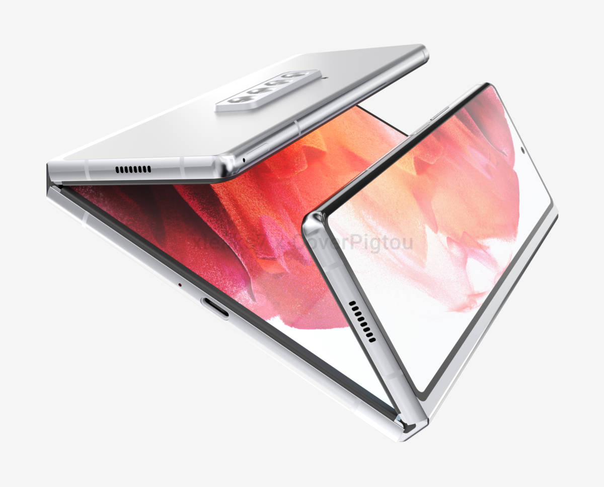 The Samsung Galaxy Z Fold Tab Is Expected To Be Released Early In 2022