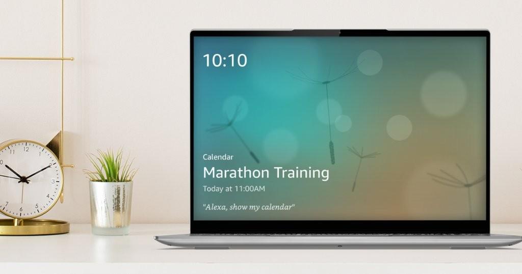 Amazon Brings Alexa Show Mode Which Turns Your Lenovo Laptop To An Echo Show