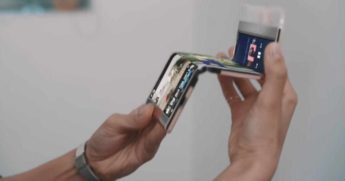 Samsung's New Dual Folding Display