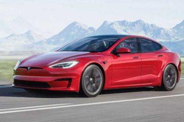 Tesla Mode S Plaid