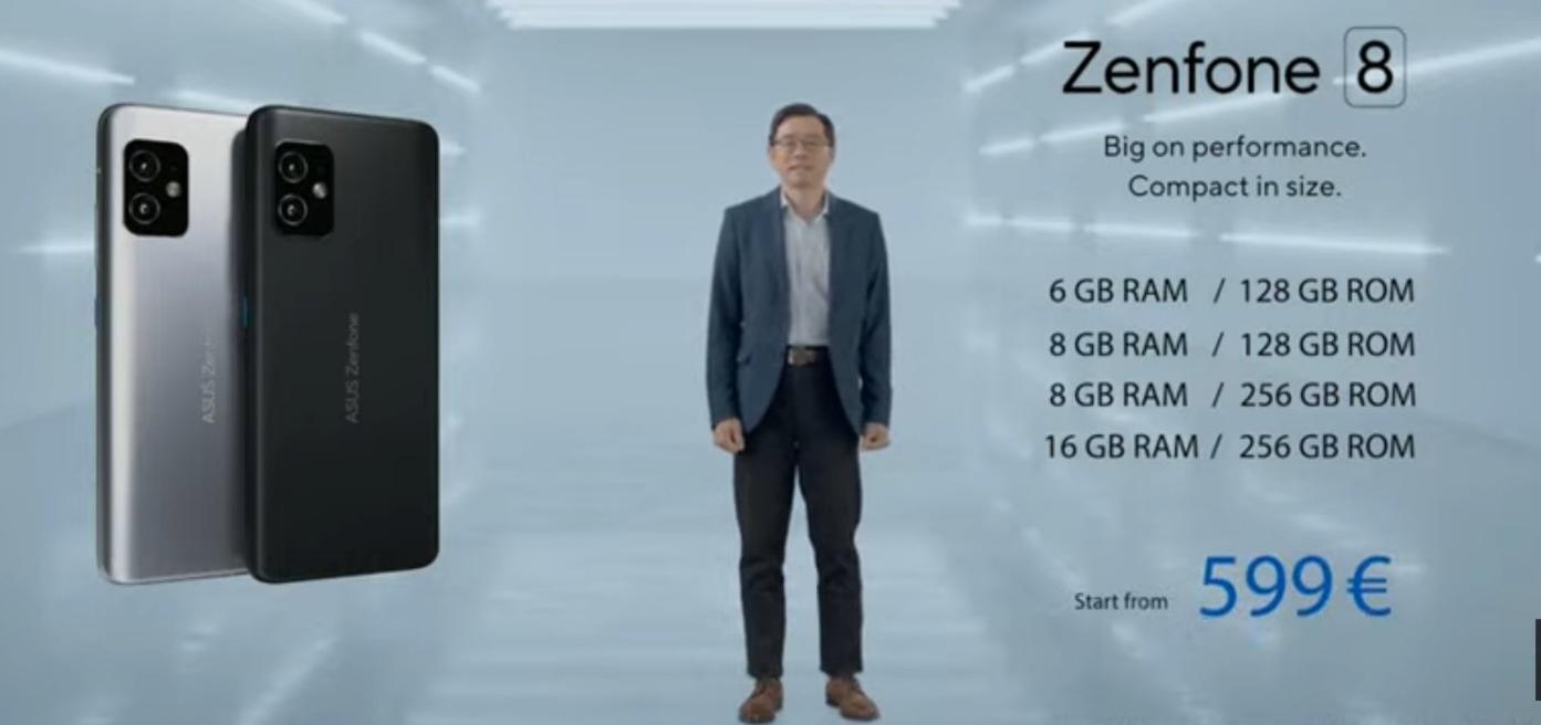 Asus ZenFone 8 & ZenFone 8 Flip – Pricing And Availability