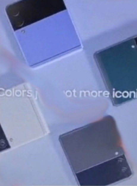 Upcoming Samsung Galaxy Flip 3 (Leaked)