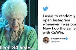 Cowin registration memes