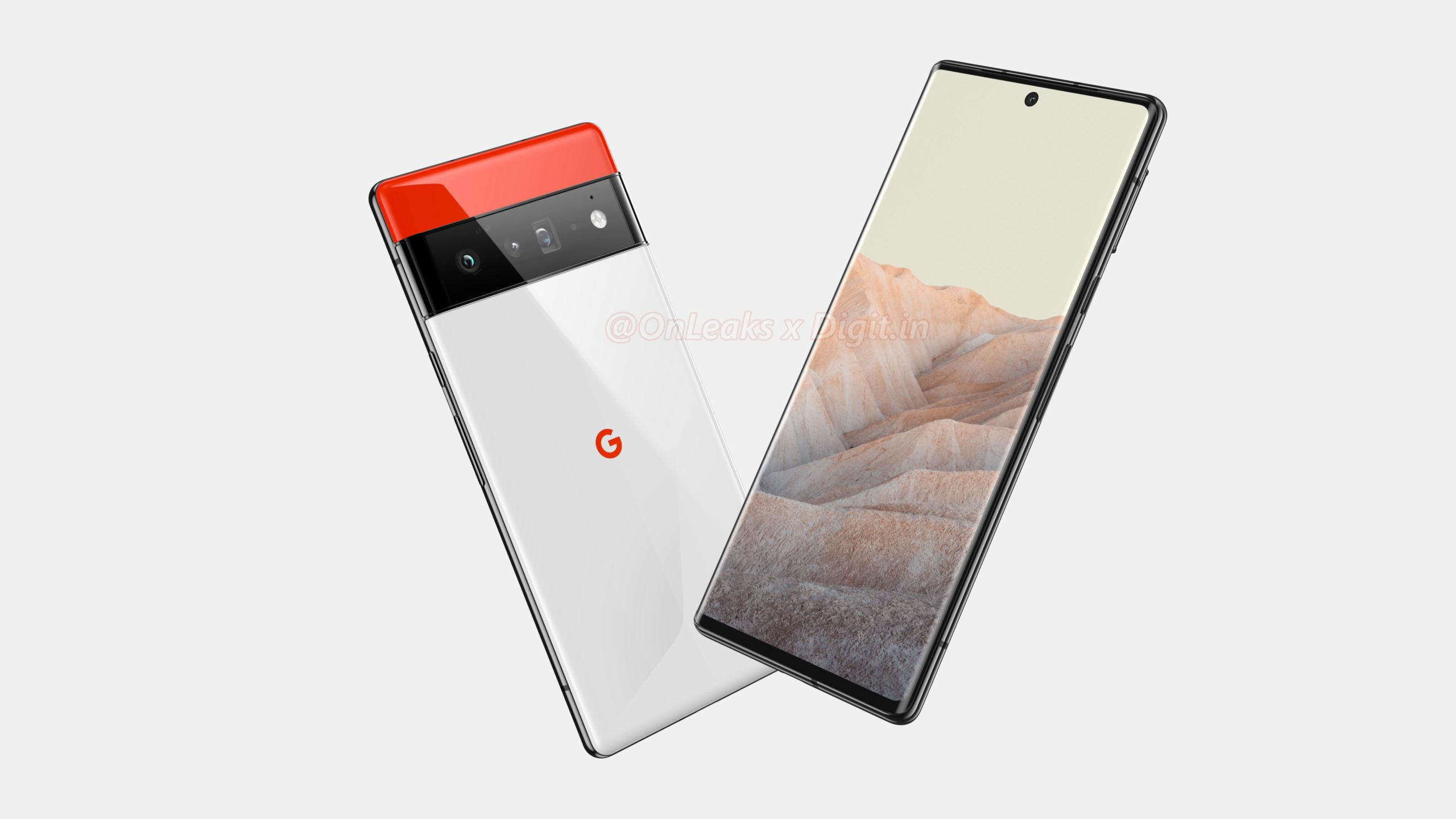 Google Pixel 6 - Design