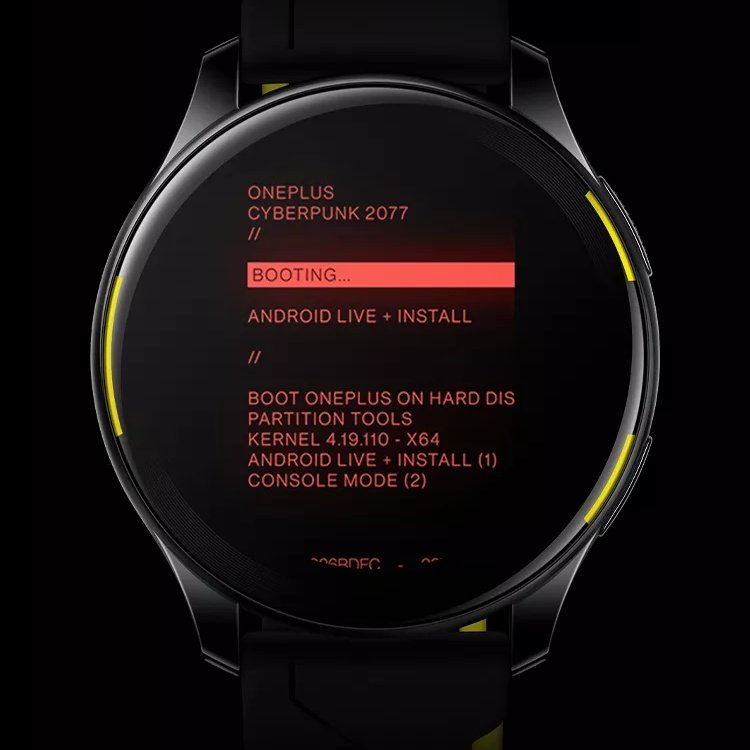 OnePlus confirms the launch for OnePlus Watch Cyberpunk 2077 limited edition on 24th May