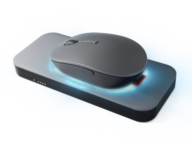 Lenovo Launches Go Wireless Charging Mouse & 65W Power Bank Globally