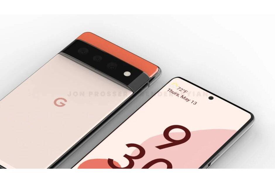 Google Pixel 6 - Display