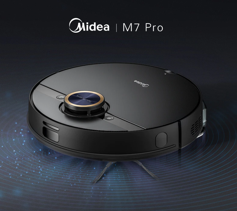 Midea Launches M7 Pro Robot Vaccum Cleaner Globally Via AliExpress For $330