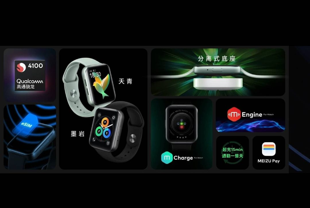 Specifications And features For The New Meizu Watch