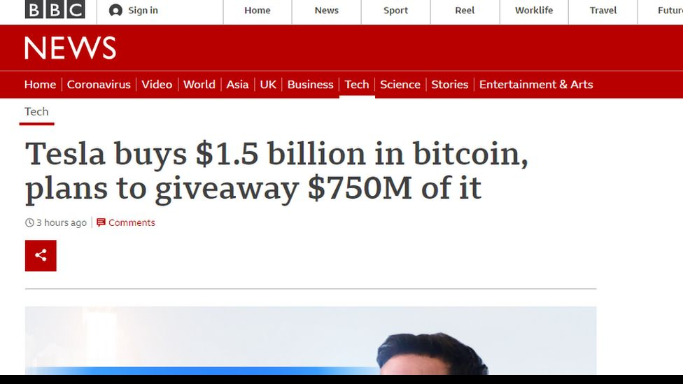 Fake BBC Website