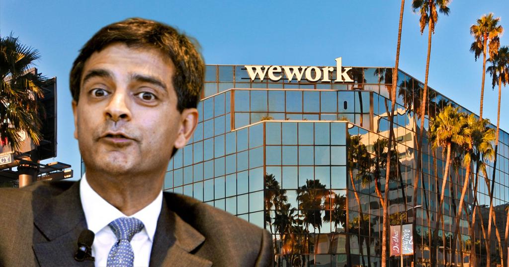 WeWork CEO Sandeep Mathrani
