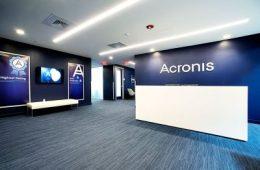 Acronis funding