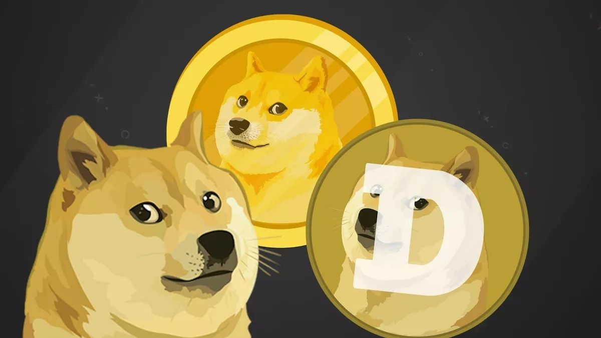 Man purchases water bottle  using Dogecoin