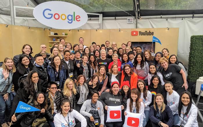 Female staff at Google