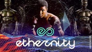 Ethernity Chain has found a way to further shed light on Ali's lasting influence