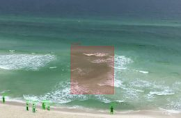Rip current detection AI