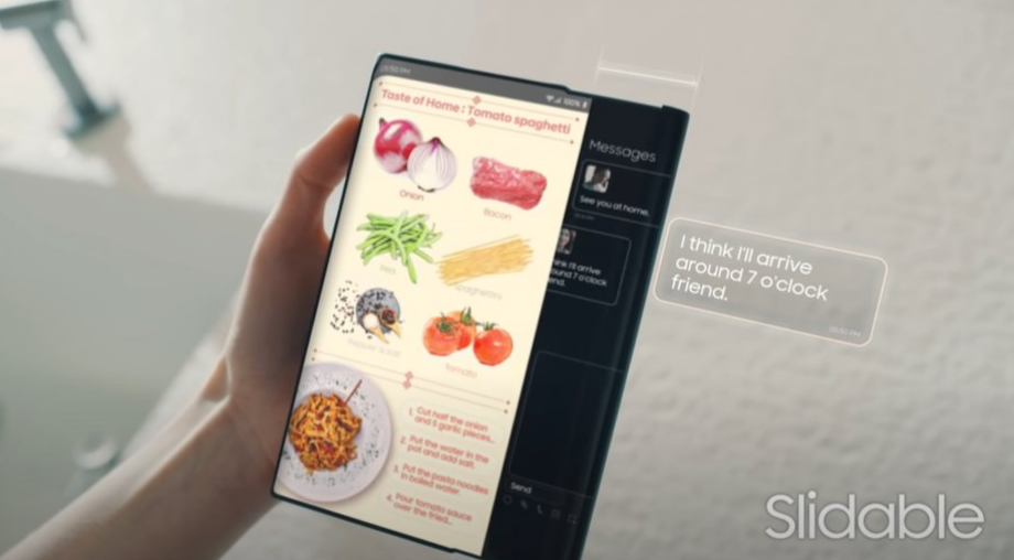 New patent by Samsung reveals the first look for Samsung Galaxy Z roll
