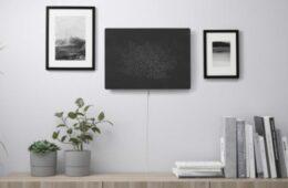 Symfonisk picture frame speaker by IKEA can be used as an wireless speaker