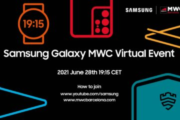 Samsung expected to hold its MWC 2021 virtual event on 28th June 2021