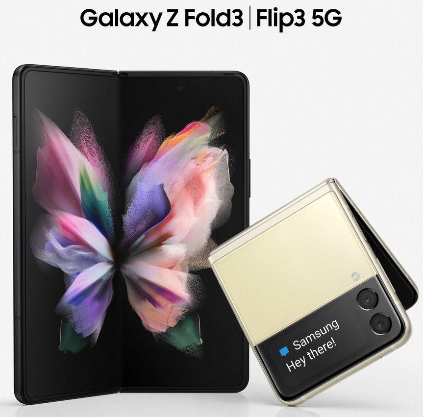 New renders for Samsung galaxy Z flip 3 & Z fold 3 surfaced online