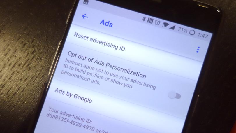 Google ad tracking