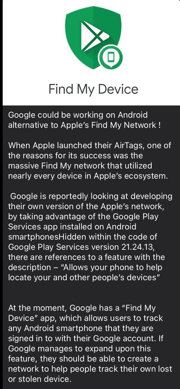 Google Find My Network - Complete Details