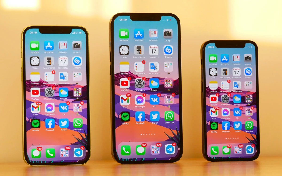 What is the expected pricing for Apple iPhone in 2022?