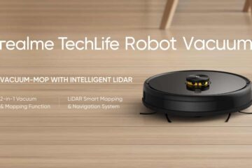 Realme Launches TechLife Robot Vacuum Cleaner With Smart Lidar System And More