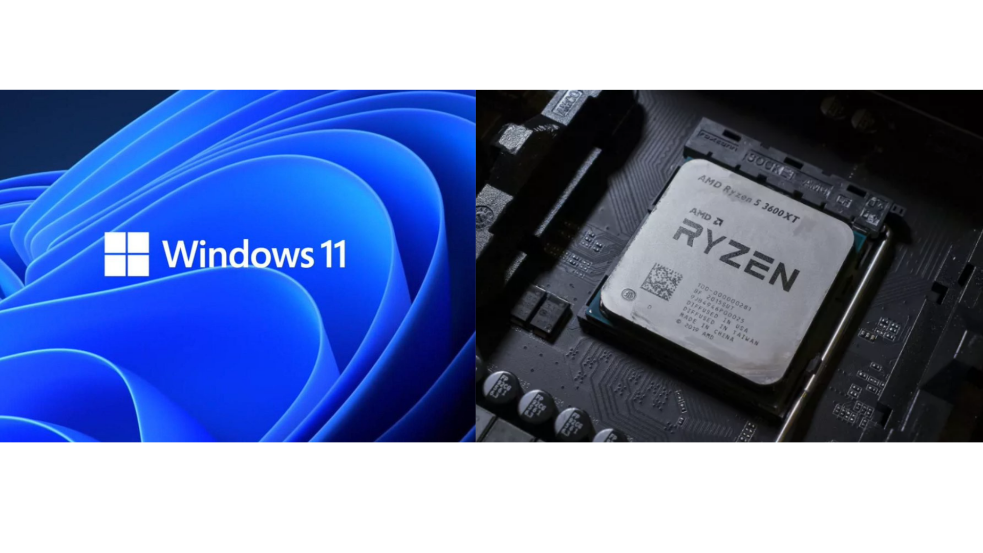List of AMD CPU supporting Windows 11