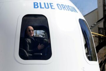 Bezos isn't allowed to re-entry to earth