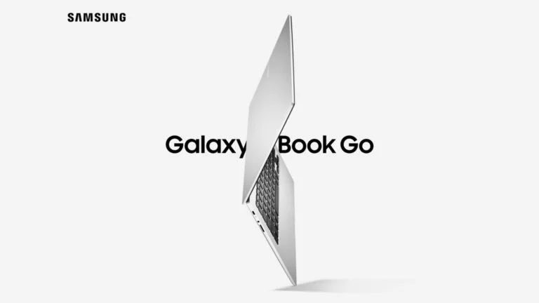 Samsung Launches Galaxy Book Go & Galaxy Book Go 5G Powered With Snapdragon Chipset