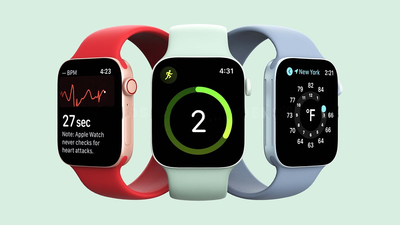 Keeping Up With Apple Watch Series 7 Leaks And Rumors