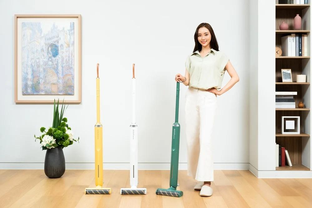 Samsung Unveils New Bespoke Slim Wireless Vacuum Cleaner Starting At 549,000 Won ($495)