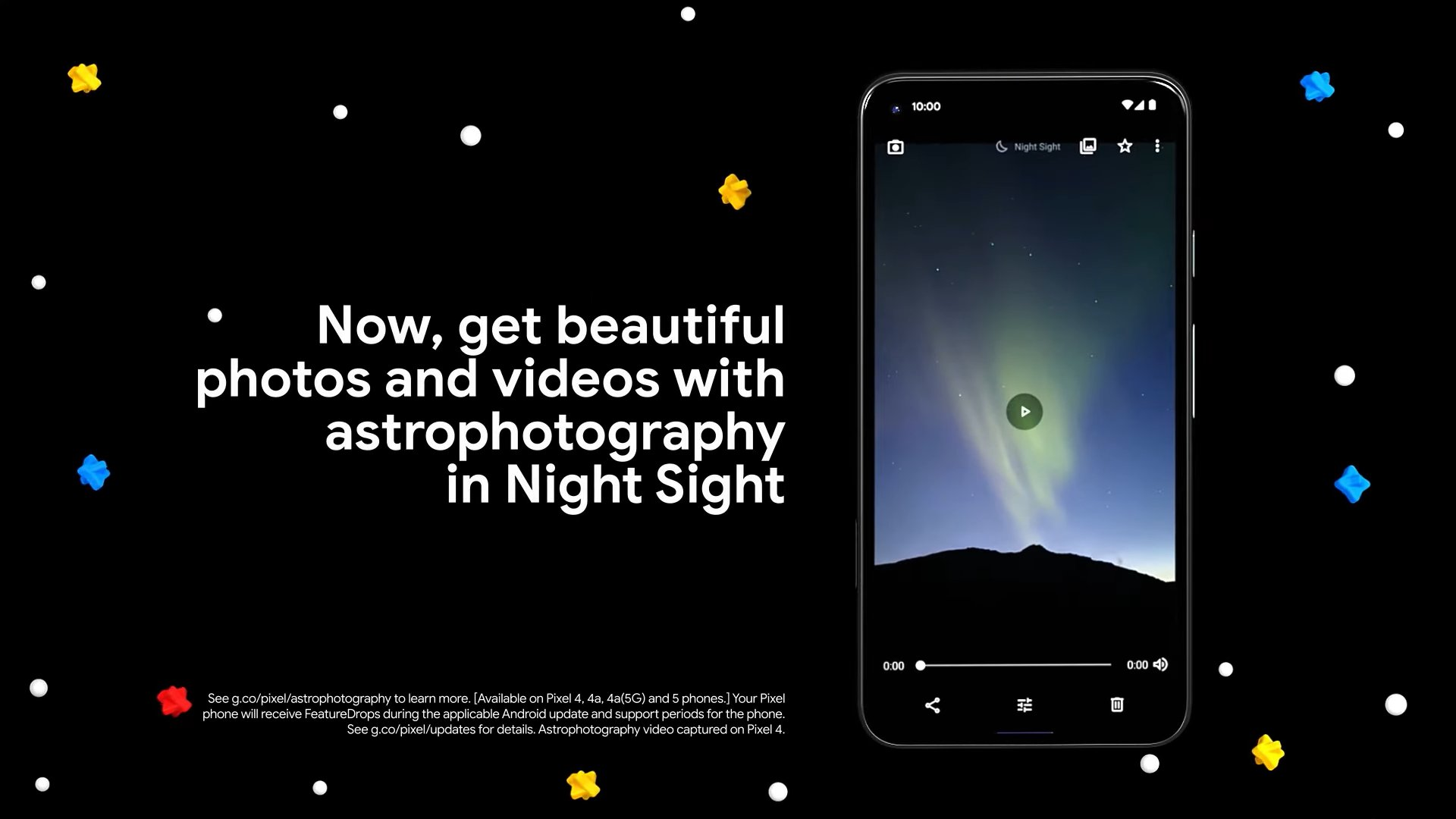 Videos of Astrophotography To Arrive With Google Pixel Feature Drop