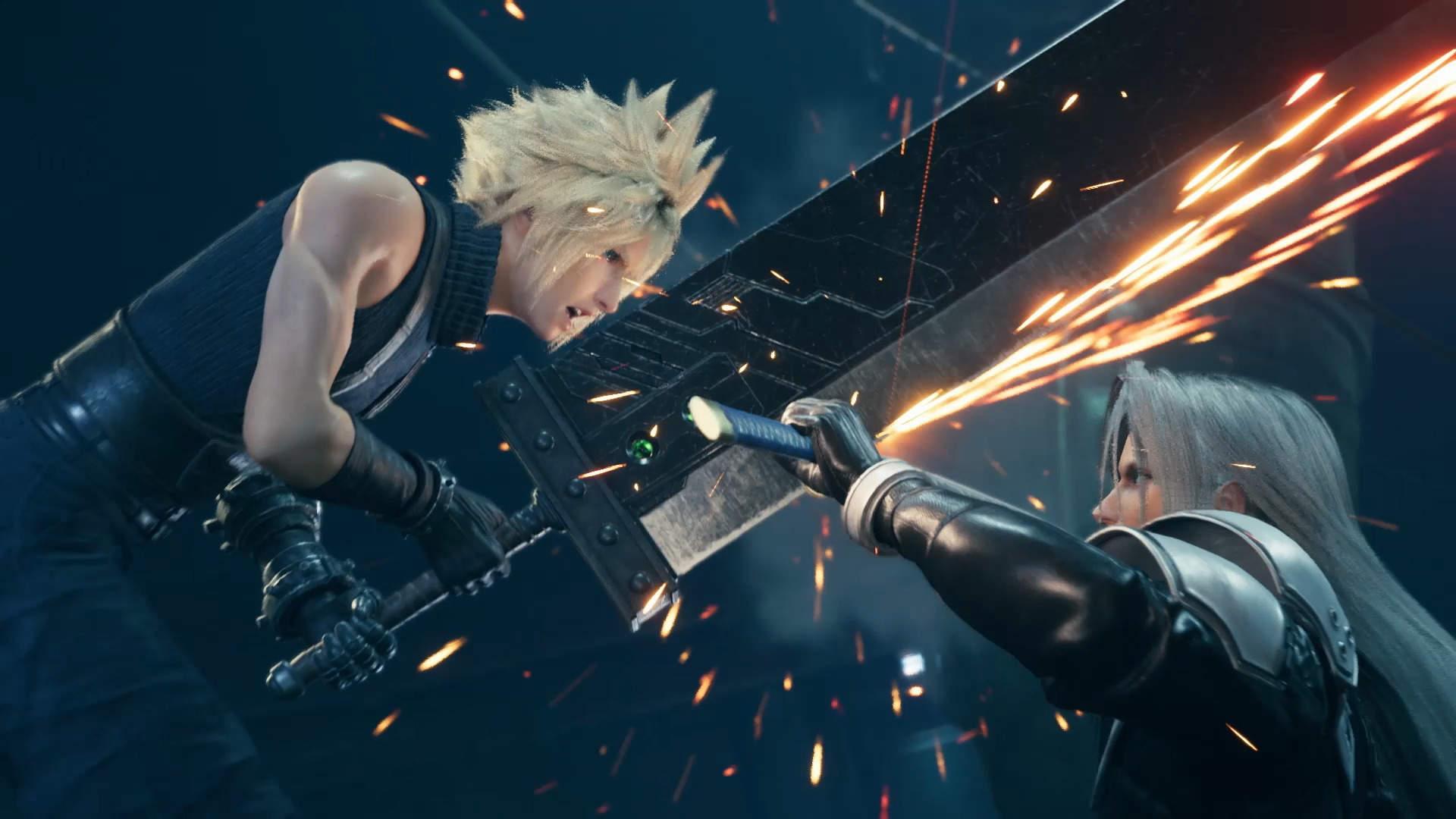 PS4 Final Fantasy VII Remake Gameplay