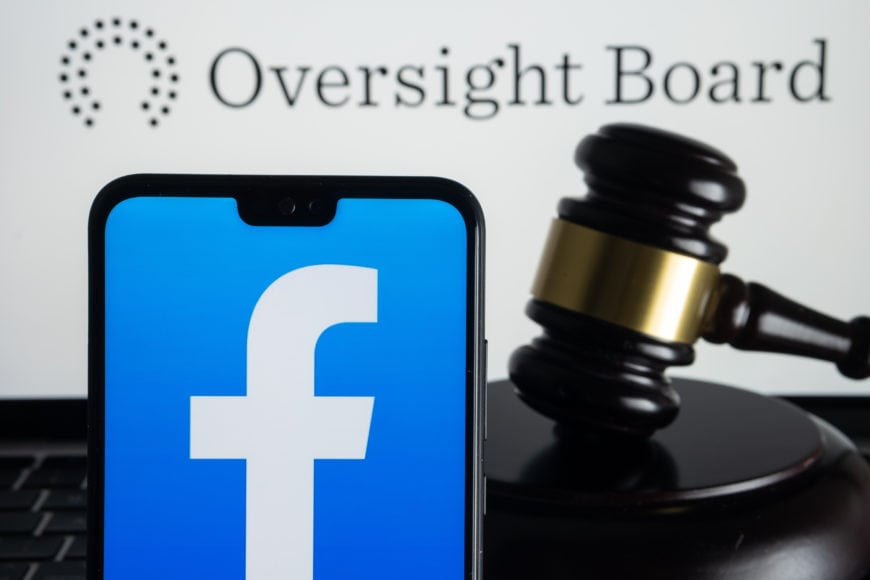 Facebook Community Standards to change after advice from Oversight Board