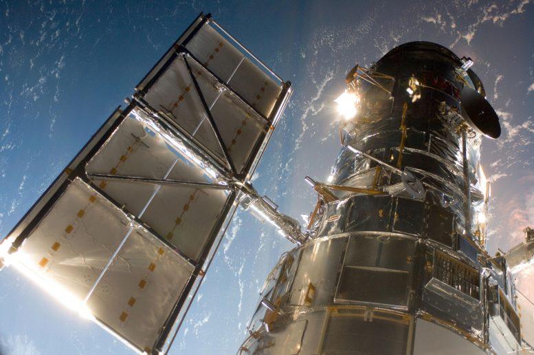 Hubble Space Telescope in Orbit
