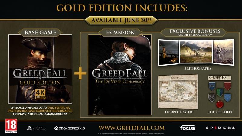 Enhanced Version Of Greedfall