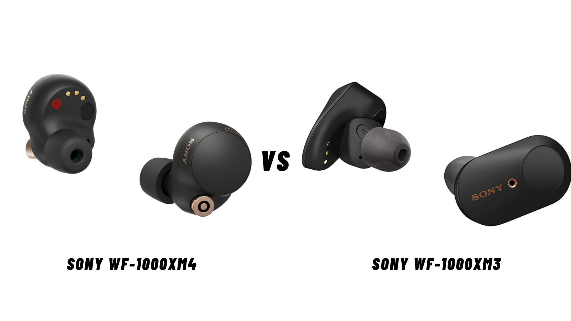 Comparing Sony WF-1000XM4 With Its Predecessors
